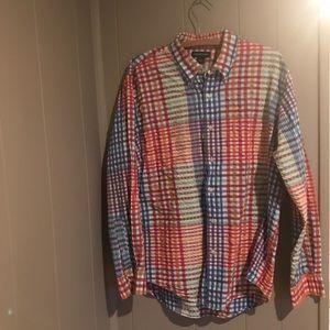 Lands End button up shirt